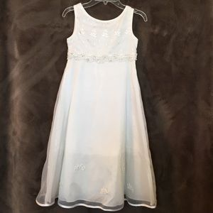 Rare Editions Communion Flower Girl Dress Size 7